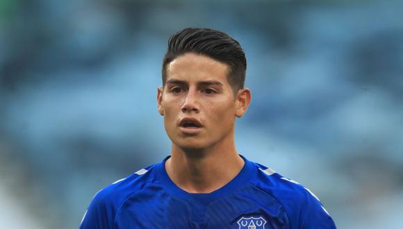 James Rodríguez regresaría al verde con el Everton ante el West Ham.