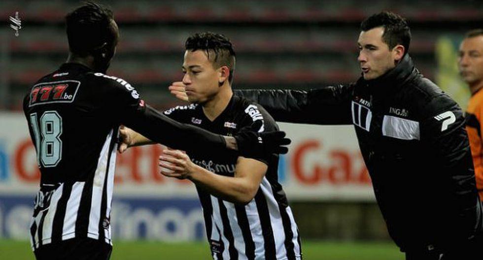 Charleroi con Cristian Benavente cayó 2-1 frente a Anderlecht