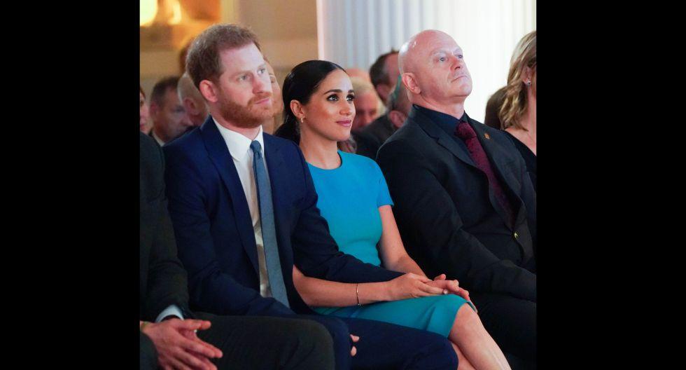El 31 de este mes dejaran de pertenecer a la familia real y esta será una de las últimas apariciones como miembros de pleno. (Foto: AFP)