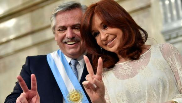 Con contundentes mensajes, el presidente argentino, Alberto Fernández, y su vicepresidenta, Cristina Fernández de Kirchner, dejaron en evidencia esta semana las rupturas al interior de su gobierno. (Getty Images).