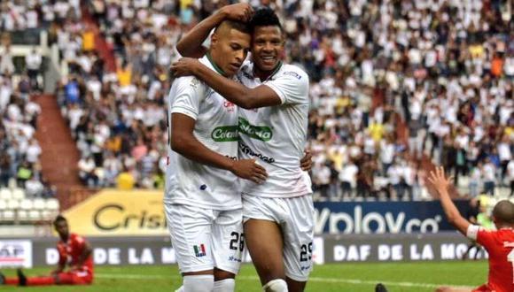 Once Caldas venció 2-1 a América de Cali en el estadio Palogrande por la Liga Águila | VIDEO. (Foto: Twitter)