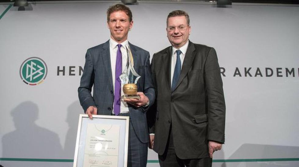 Técnico del Hoffenheim sorprendió al ganar premio en Alemania - 2