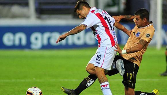 Sin Cueva, Santos empató sin goles ante River Plate de Uruguay por la Copa Sudamericana 2019. (Foto: AFP)