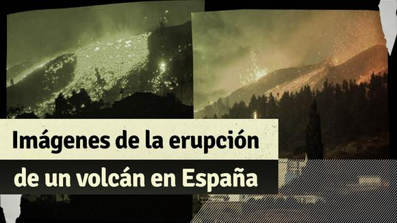 Spain: shocking images of a volcano eruption in the Canary Islands