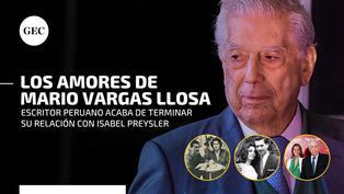 Mario Vargas Llosa cumple hoy 85 años: los amores del ilustre escritor