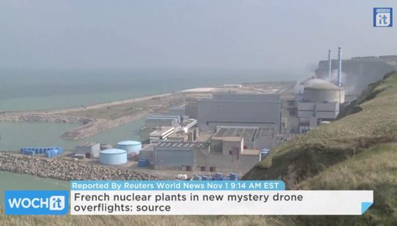 Los drones que espían a las centrales nucleares de Francia