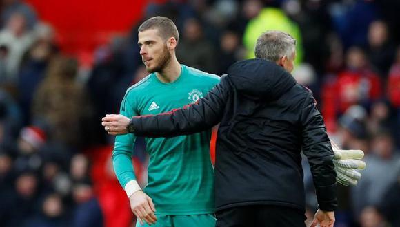 Ole Gunnar Solskjaer sentó a David De Gea y el nuevo titular del Manchester United es Henderson. (Foto: REUTERS)