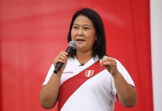 """Keiko Fujimori a Pedro Castillo tras no asistir a debate en Chorrillos: """"No cumplió con su palabra"""""""