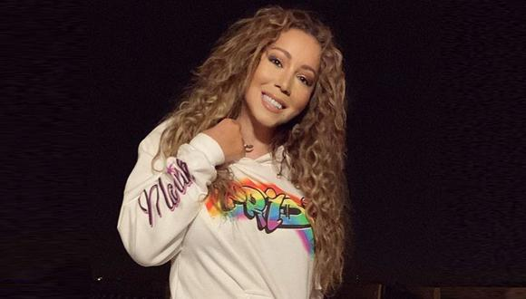 Mariah Carey se unió al #bottlecapchallenge y sorprende al destapar una botella con su voz. (Foto: @mariahcarey)