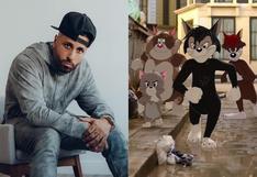 """Nicky Jam interpretará al gato """"Butch"""" en la nueva película de """"Tom y Jerry"""""""
