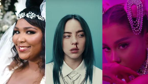 Estos serían los ganadores de los Premios Grammy según su popularidad den YouTube. (Foto: YouTube)