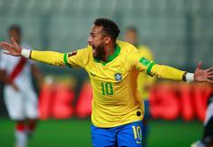Neymar, tras triplete a Perú, superó a Ronaldo y está a 13 goles de Pelé