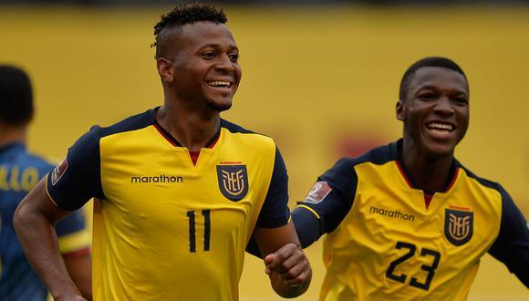 Ecuador se llevó el resultado por 6 tantos a 1 ante Colombia. (Foto: AFP)