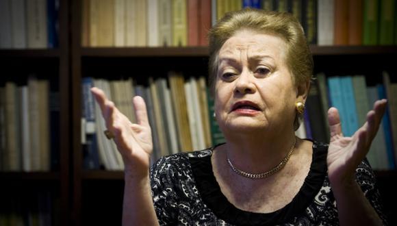 """Martha Hildebrandt: el significado de """"no tener cara"""""""