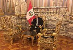 'Richard Swing' tuvo reuniones en Palacio de Gobierno en junio y octubre del 2018