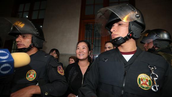 Corte Suprema rechazó la recusación contra jueces que verán casación de Keiko Fujimori por su prisión preventiva