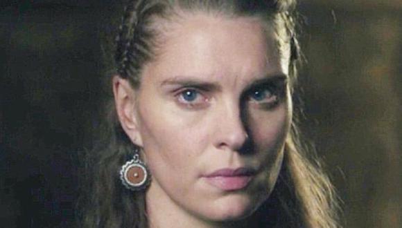 Gunnhild decidió unirse a Bjorn Ironside en el Valhalla (Foto: History Channel)