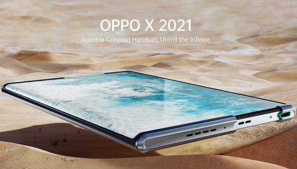 Oppo X 2021. (Imagen: Oppo)