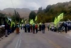 Moquegua: población de Tumilaca retoma el paro contra el proyecto minero Quellaveco   VIDEO