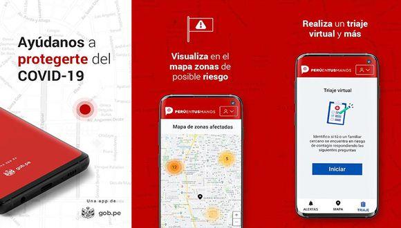 Hoy se lanzó un aplicativo que permite ubicar geográficamente a los paciente con coronavirus en el país.