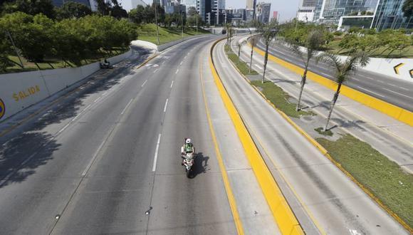 Cierre de principales vías de Lima rige del jueves al domingo 4 de abril. (Foto: Eduardo Cavero/GEC)