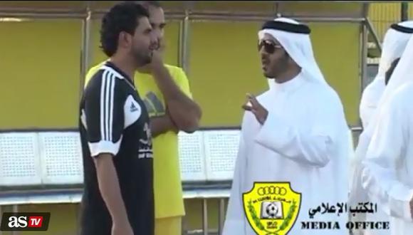 Al Wasl árabe marginó a este futbolista argentino