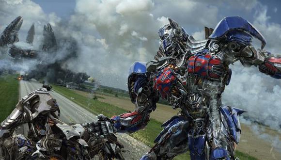 """""""Transformers 4"""": filme más taquillero de la historia en China"""