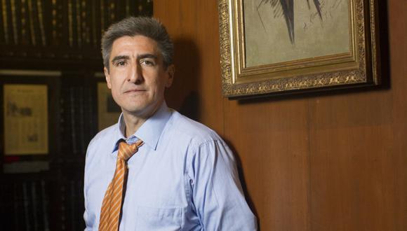 Alejandro Neyra fue nombrado Ministro de Cultura el sábado 30 de mayo en Palacio de Gobierno. Foto: El Comercio.
