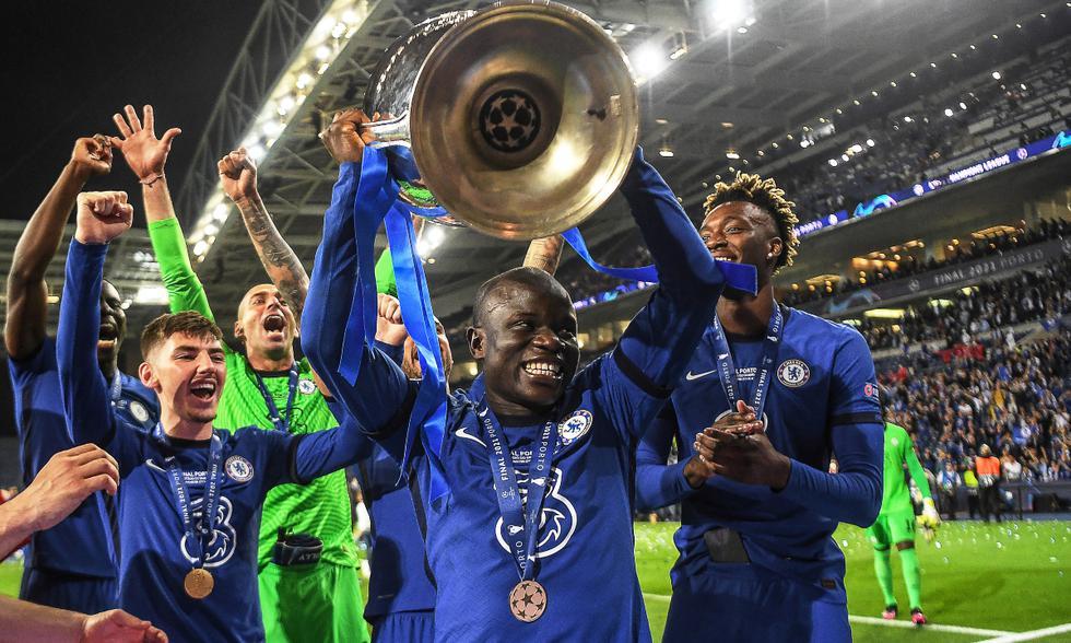 Chelsea es el campeón de la UEFA Champions League tras vencer 1-0 a Manchester City.   Foto: AFP