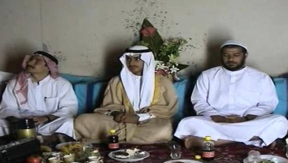 Hijo de Osama Bin Laden se casa con la hija del principal autor material del 11-S. (Foto: EFE)