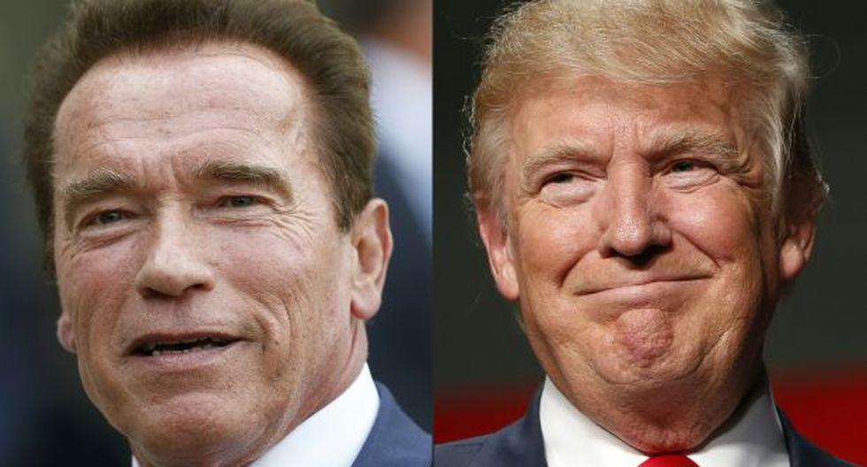Arnold Schwarzenegger y la lección que le dio a Donald Trump