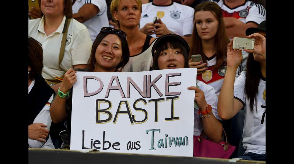 Schweinsteiger se despidió entre lágrimas de selección alemana - 14