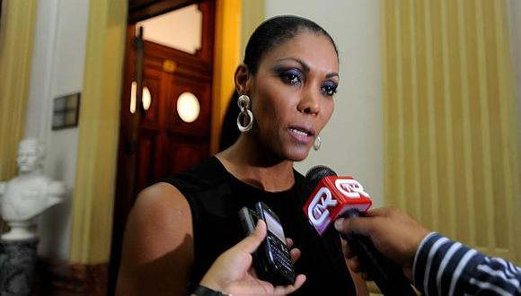 Cenaida Uribe fue blindada en la Comisión de Ética. Informe del Caso Punto Visual fue archivado. (Foto: Congreso)