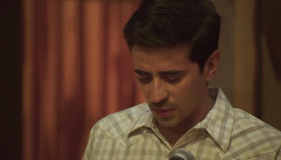 Erick Garza cuando era joven representado en la última serie de TNT (Foto: TNT)