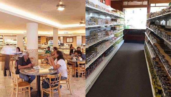 Pastelería San Antonio se convirtió en minimarket. (Foto: Facebook)