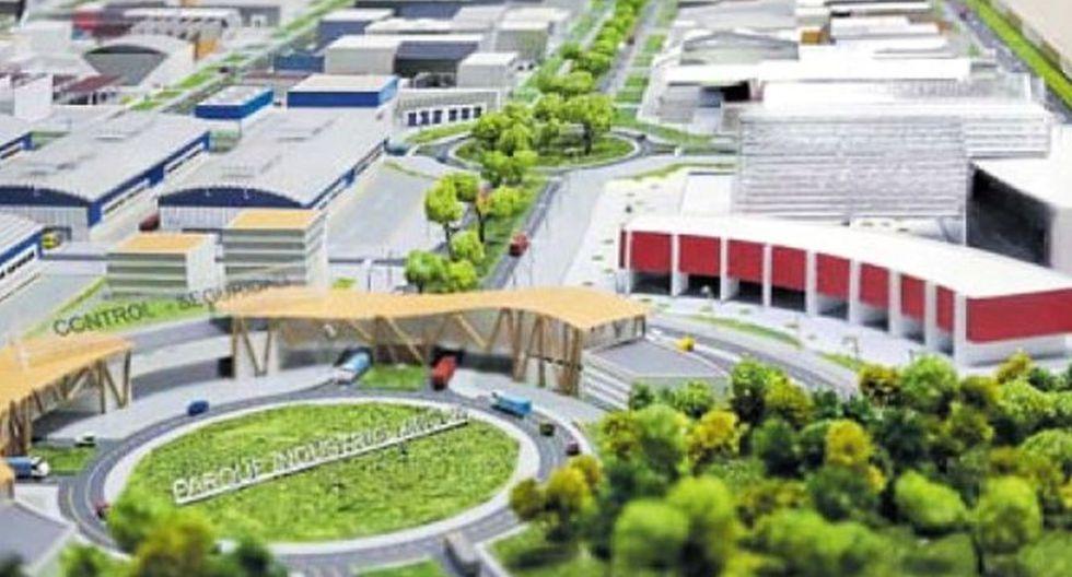 El parque Industrial de Ancón es una de las zonas con potencial para desarrollar los primeros parques eco-industriales en Perú. (Foto: Captura)