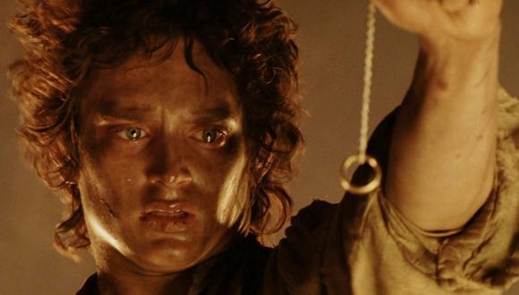 """Frodo Baggins (Elijah Wood) en el momento cumbre de """"El señor de los anillos: El retorno del rey"""". (Foto: Warner Bros.)"""