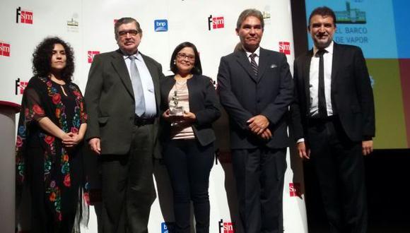 Premio Barco de Vapor para Carlos Garayar y Jéssica Rodríguez