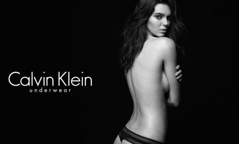 Kendall Jenner da que hablar con sus fotos para Calvin Klein