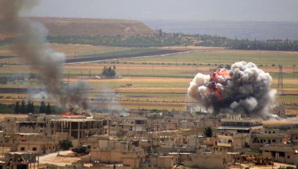 Idlib, último bastión yihadista del país, es blanco de bombardeos casi diarios por parte del régimen sirio y su aliado Rusia. (AFP).