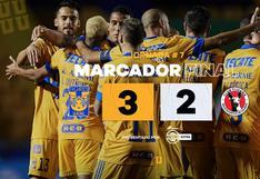 Tigres venció 3-2 a Tijuana por el Clausura 2021 de la Liga MX