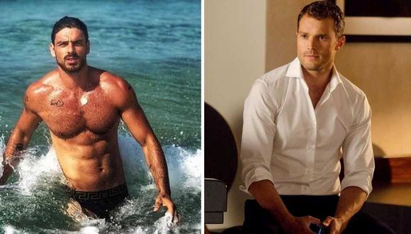 Massimo y Christian Grey tendrían muchas similitudes (Foto: Netflix / Universal Pictures)