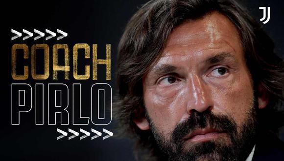 Andrea Pirlo es el nuevo entrenador de Juventus. (Foto: @juventusfc)