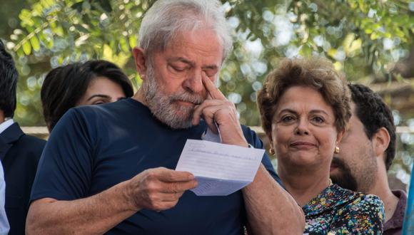 La Justicia de Brasil abrió proceso penal contra los ex gobernantes izquierdistas Luiz Inácio Lula da Silva y Dilma Rousseff por presuntos sobornos. (Archivo AFP)
