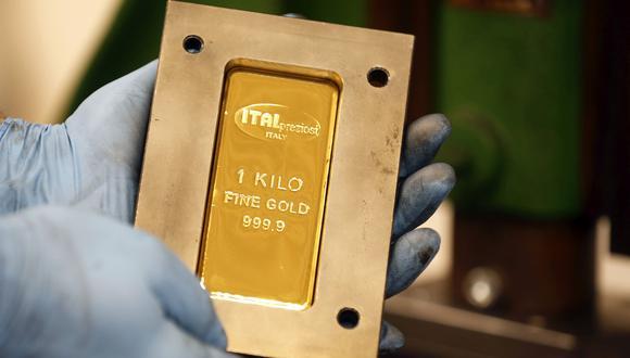 Los futuros del oro en Estados Unidos subían un 0,7%, a US$1.565,60 la onza. (Foto: Bloomberg)