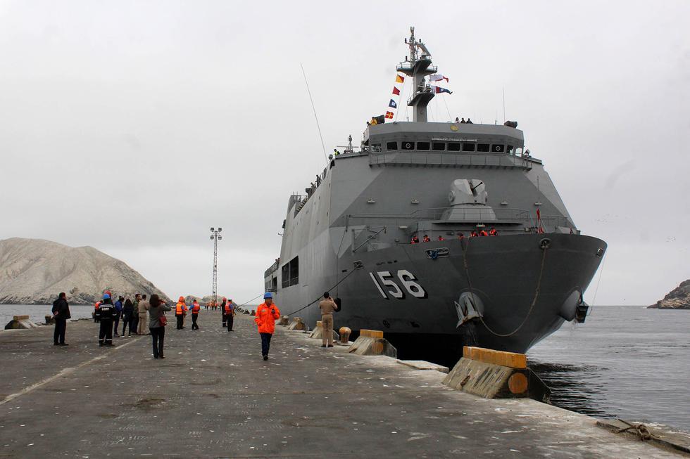Áncash: buque Pisco llegó a Chimbote para realizar campaña de salud
