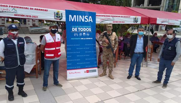 El Ejército, Indeci, la Municipalidad de Apurímac, Diresa Apurímac, entre otras instituciones, sumaron esfuerzos para realizar la actividad. (Foto: Gobierno Regional de Apurímac)