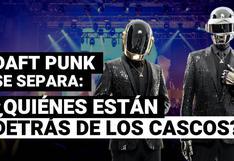Daft Punk se separa: ¿Quiénes están detrás de los cascos y por qué los usaban?