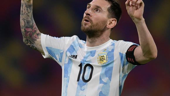 Lionel Messi comandará el ataque de Argentina ante Colombia. Vía REUTERS/Juan Mabromata