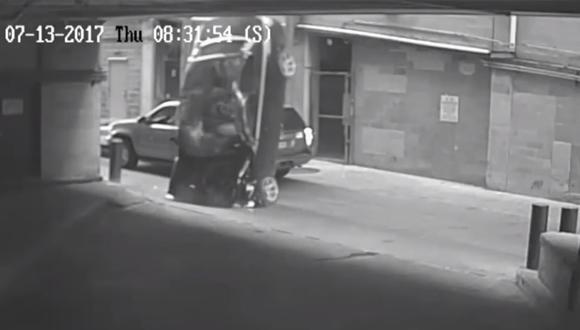 La conductora se recupera de sus heridas en un hospital de Texas. (Video: YouTube)